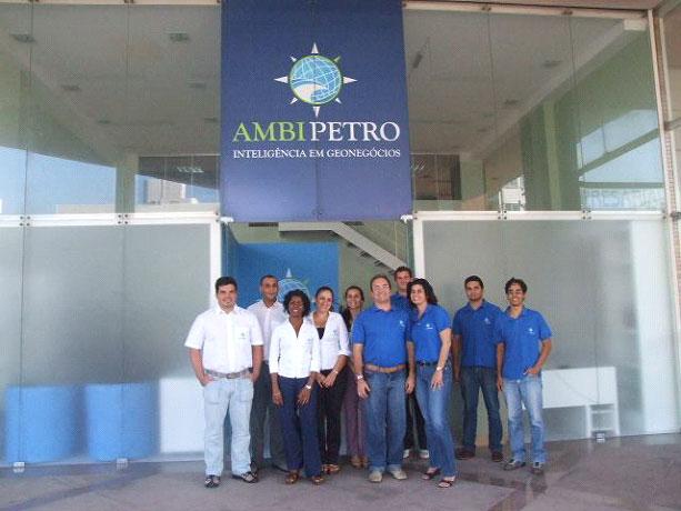 Equipe da Ambipetro na antiga sede em Natal, RN em 2008