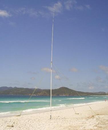 Antena de transmissão do sistema SeaSonde®  Long Range (5 Mhz)