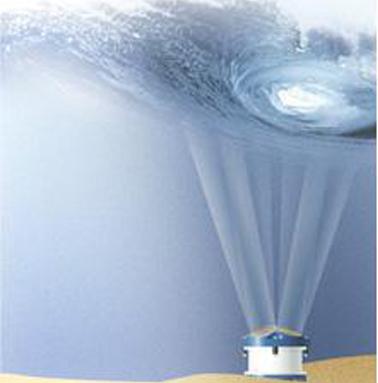 ADCPs RDI Teledyne Invertidas para medidas de onda e corrente
