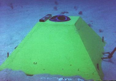Dados de ADCP obtidos no fundo do mar