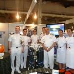 Visita a Feira Técnico-Científica Brasil Oceano